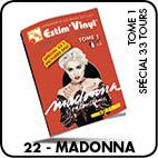 madonna, estimation vinyles 33 tours et 45 tours, cotes albums 33 tours et 45 tours,
