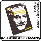BRASSENS, cotes vinyles 33 et 45 tours, www.estimvinyl.com