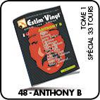 Anthony b, discographie cotée , cotes vinyles, www.estimvinyl.com